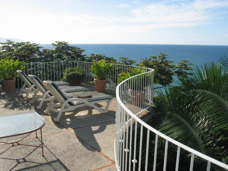 Blick von Casa Carter Deck