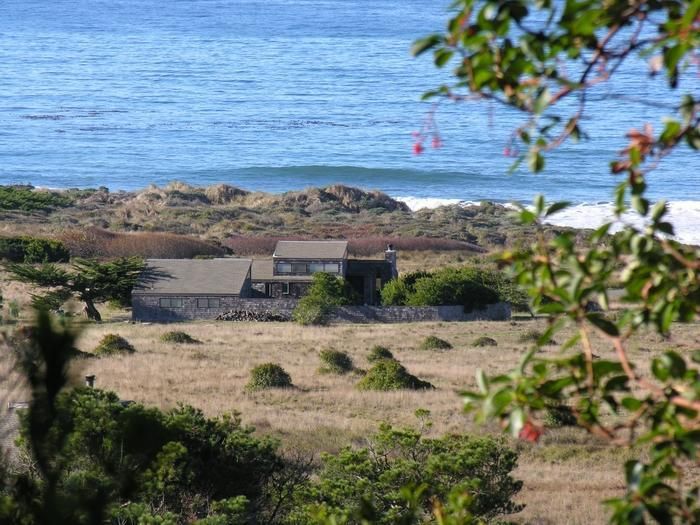 Casa Pacis (from hillside behind)