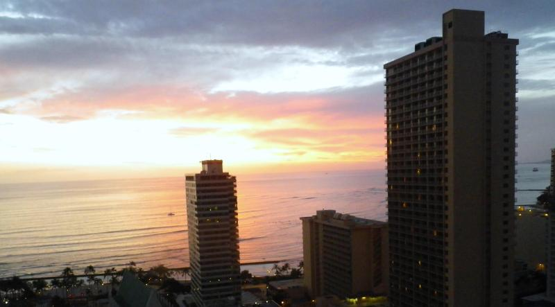 Sunset Views from Our Lanai!