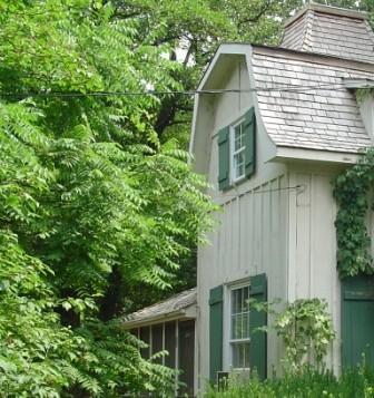 Original Chatauqua cottage next door
