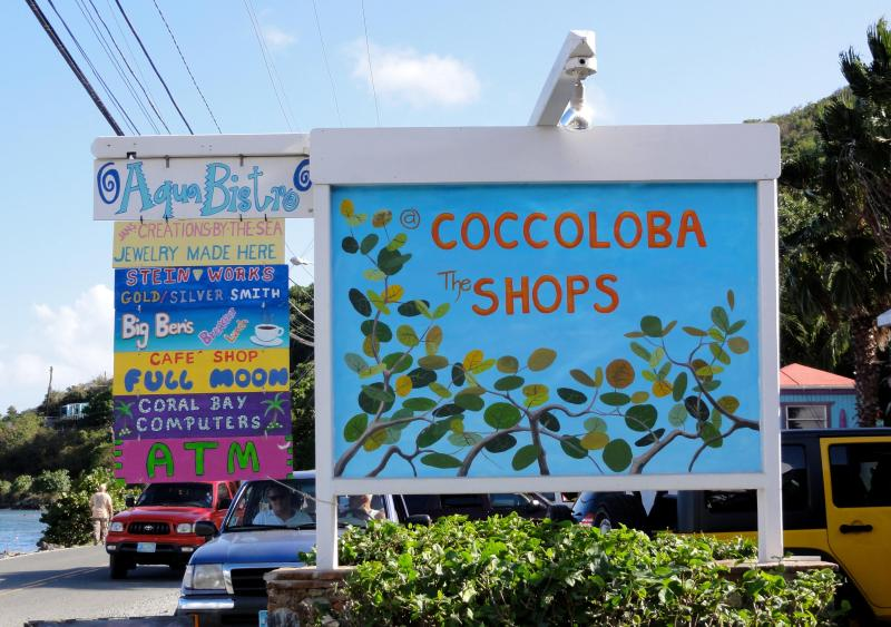 Shops in Coral Bay
