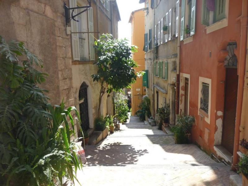 Typical old medieval Villefranche sur mer