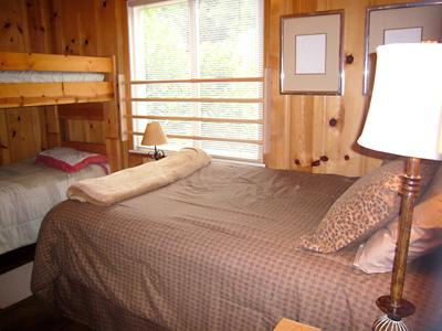 Idle Hours, Dorm Bedroom with Double and Twin Bunks.