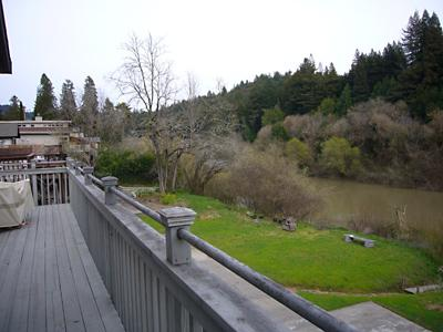 Idle Hours, Back Deck With River Views, Russian River CA