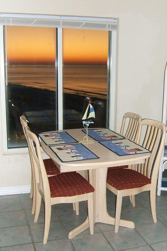 Sunrise from breakfast table!