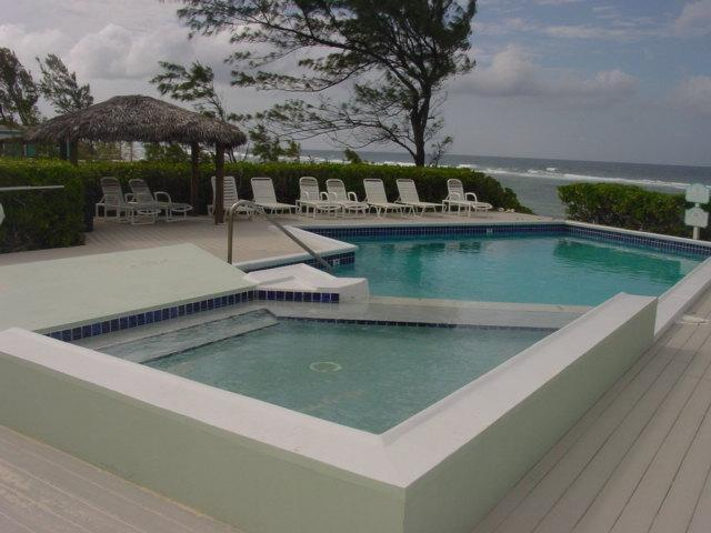 Beachfront Pool with Attached Wading Pool for Toddlers