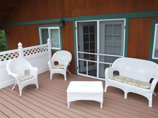 patio off the master suite