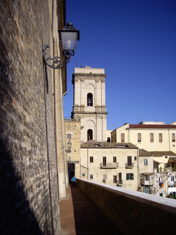 Historic Lanciano where the house is located