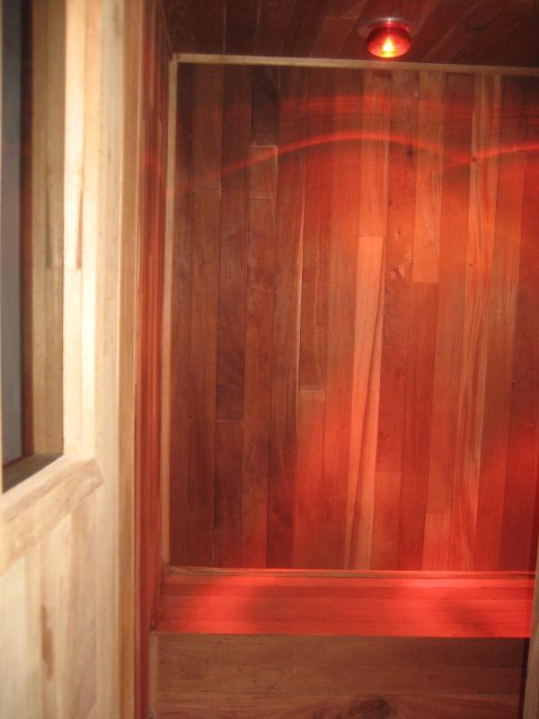 Sauna in fitnesscentrum