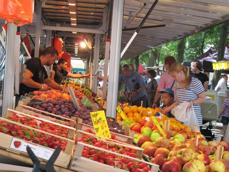 The Market on Boxhagener Platz