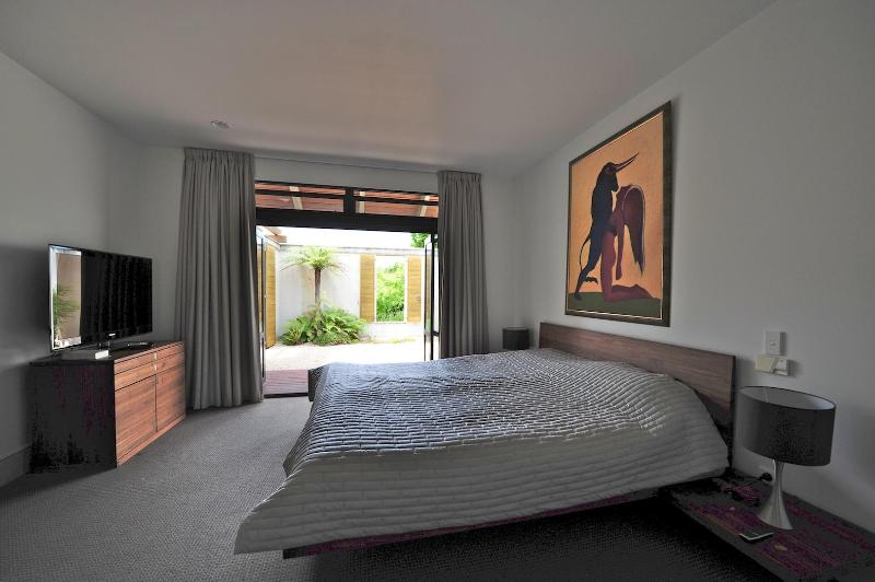 Master bedroom with private garden