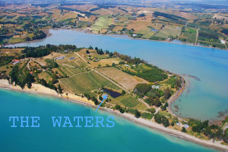 The Waters arial view