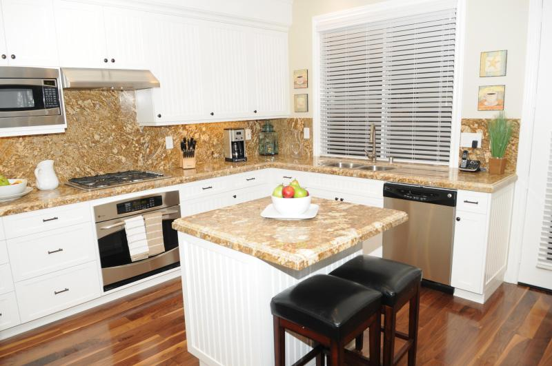Gourmet Kitchen with Top Notch Appliances
