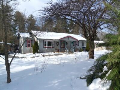 Rose Cottage after a winter snow