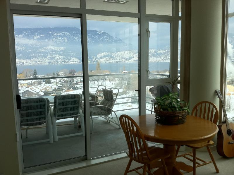 Amazing panoramic views of Lake Okanagan