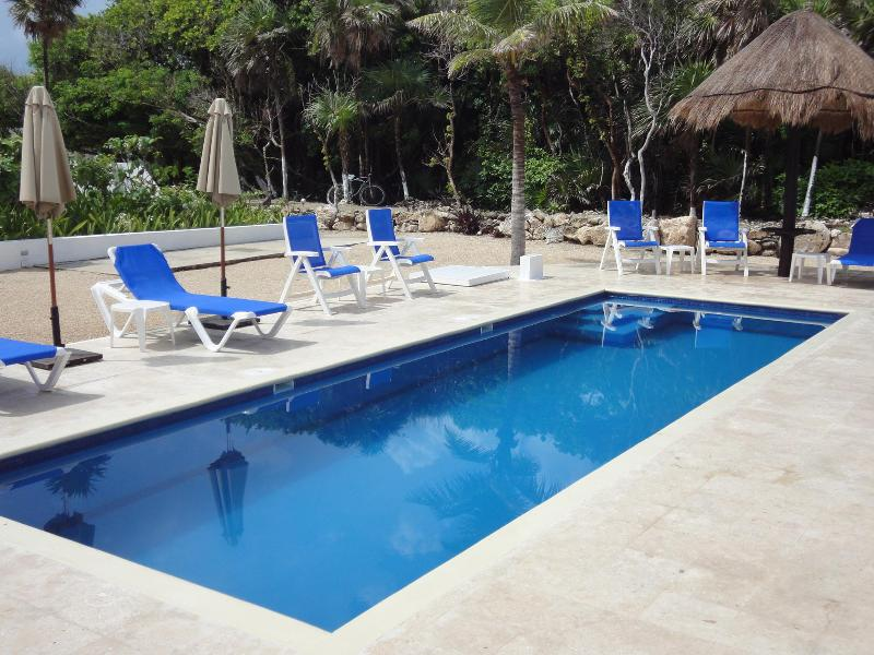 Private Turquoise-Tiled Pool