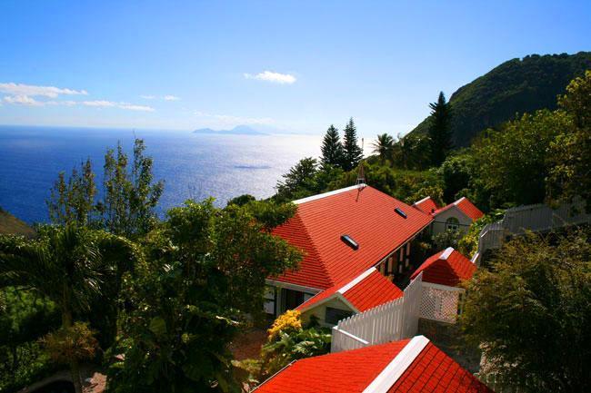 Saba's finest ocean villa, vacation rental in Windwardside