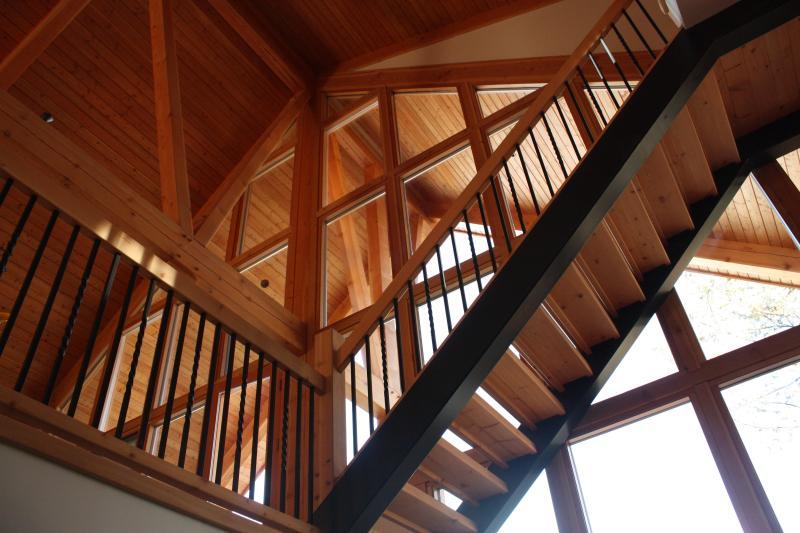 Custom fir staircase