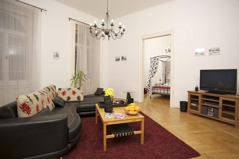 4 bedroom, stylish app in downtown Budapest, vacation rental in Solymar