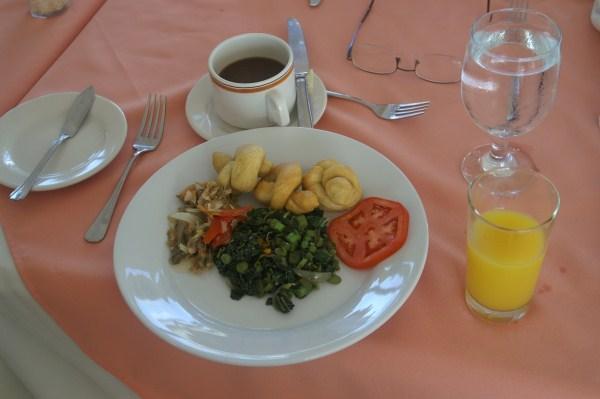 Free Jamaican Breakfast