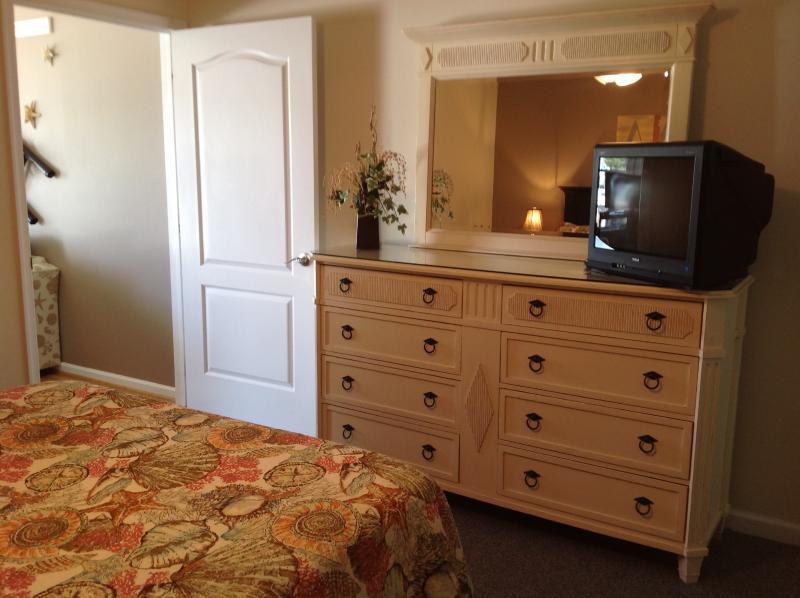 double dresser in bedroom