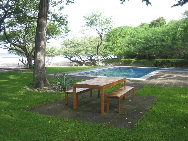 Picnic Table & Pool