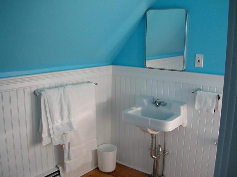 Baño completo de 2 º piso