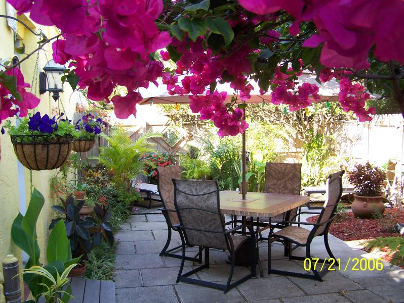 The Guest Cottage Est 1997 Manatee suite, tropical plants and outstanding decor., alquiler vacacional en Cocoa Beach