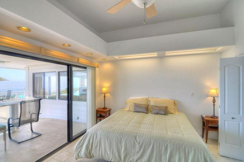 Second Bedroom with view of the lanai.