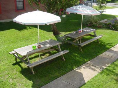 Picnic Area with gas grill