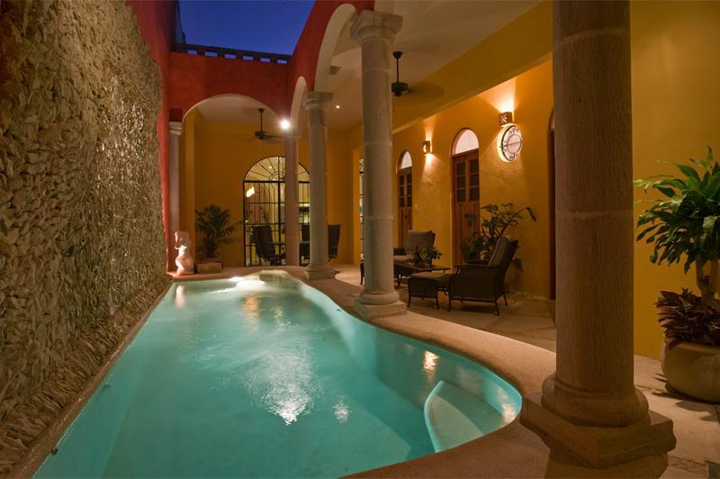 Welcome,  Huge stone fountain, terrace, and private pool