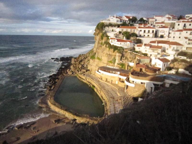 Seawater swimming pool at Azenhas do Mar