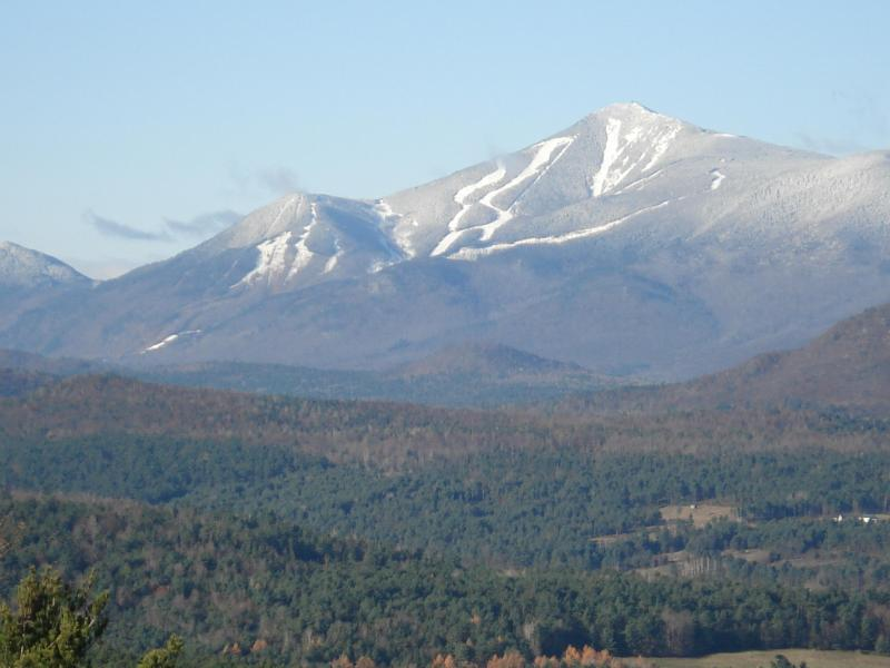 Whiteface Mt. from Star Ridge - Beauty and serenity, a 15 min. drive