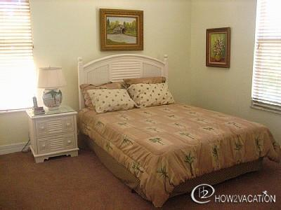 one of the guest rooms