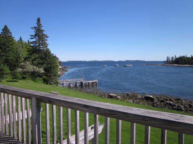 Vista desde la cubierta superior