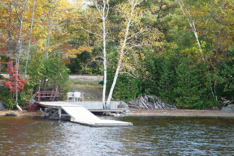 New floating boat/swim dock