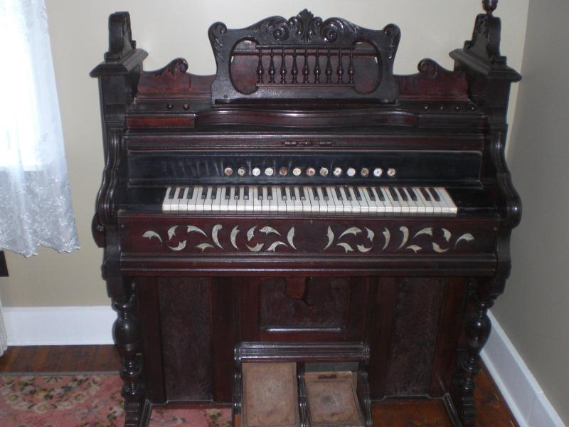 Pump Organ from LM Montgomery's Cavendish