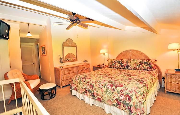 Master Bedroom - King Bed and Bath
