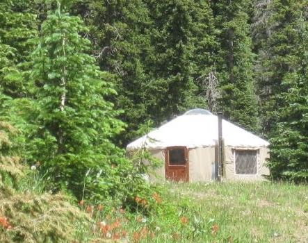 The Pass Creek Yurt, holiday rental in Pagosa Springs