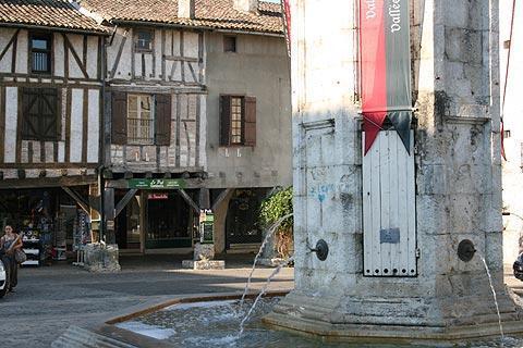 Eymet Village Square