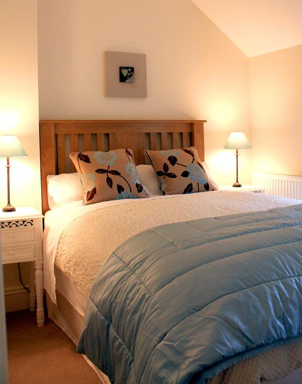 The second of the double bedrooms
