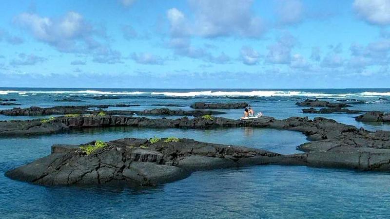 Schnorcheln vor der Küste