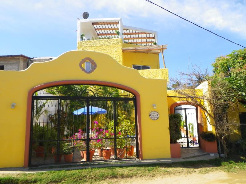 Front view of Sayulita Suites at Casa Duelces Suenos