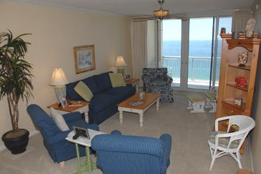 Living Room with access to Balcony