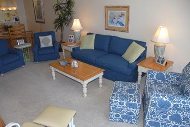 Living Room with Hide a Bed Couch - sleeps 2