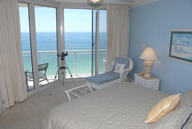 Master Bedroom with access to Balcony - reading area