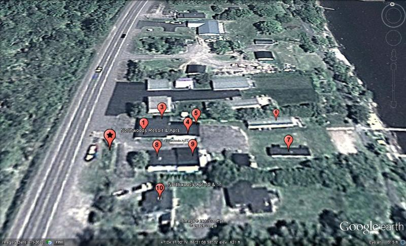 Location of all of our units on the property. This listing is unit #7.