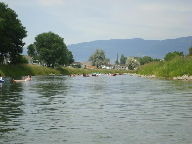 Take a slow ride down the Penticton Channel