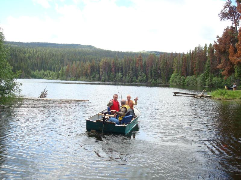 Go fishing in one of many Peachland lakes