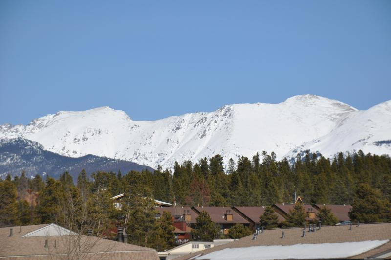 View of Indian Peaks from the Living Room